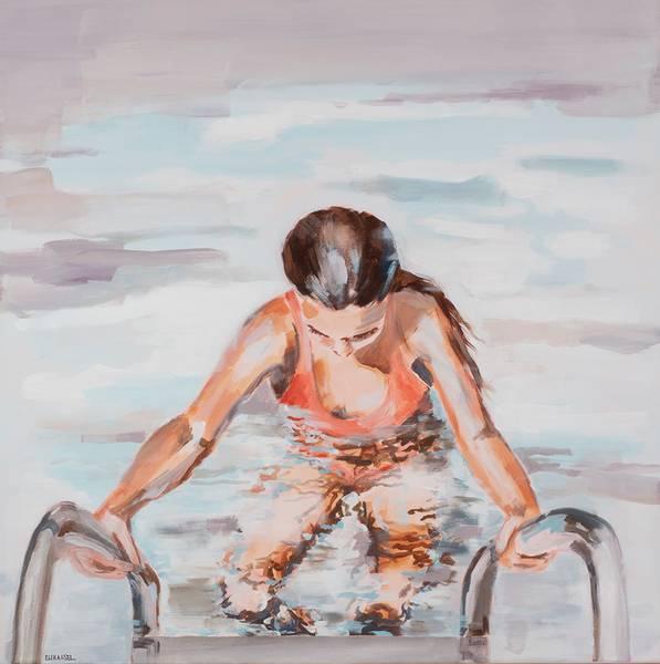 Bilde av INTO THE WATER kunst ELI HASSEL